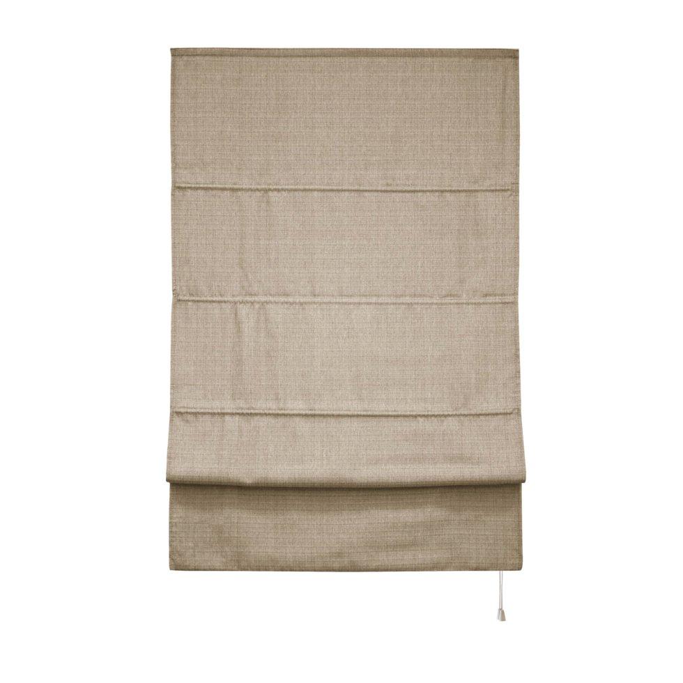 Штора римская «Натур», 140х175, цвет бежевый