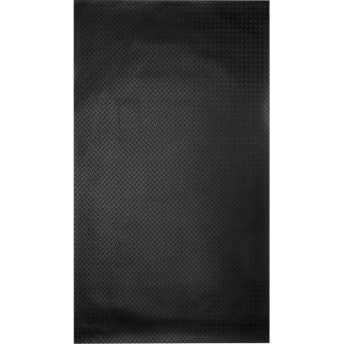 Ковровое покрытие «Ёлочка», 1.2х10 м, резина, цвет чёрный