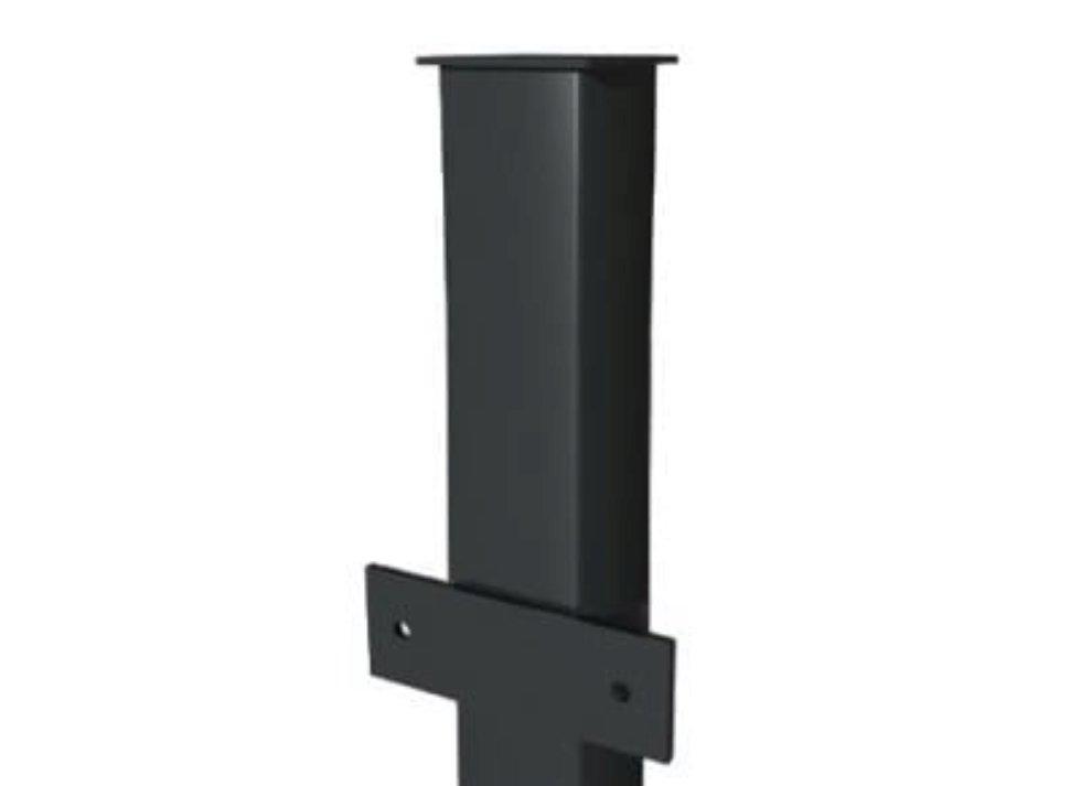Столб с планками, грунт, 40x40 мм, 3 м