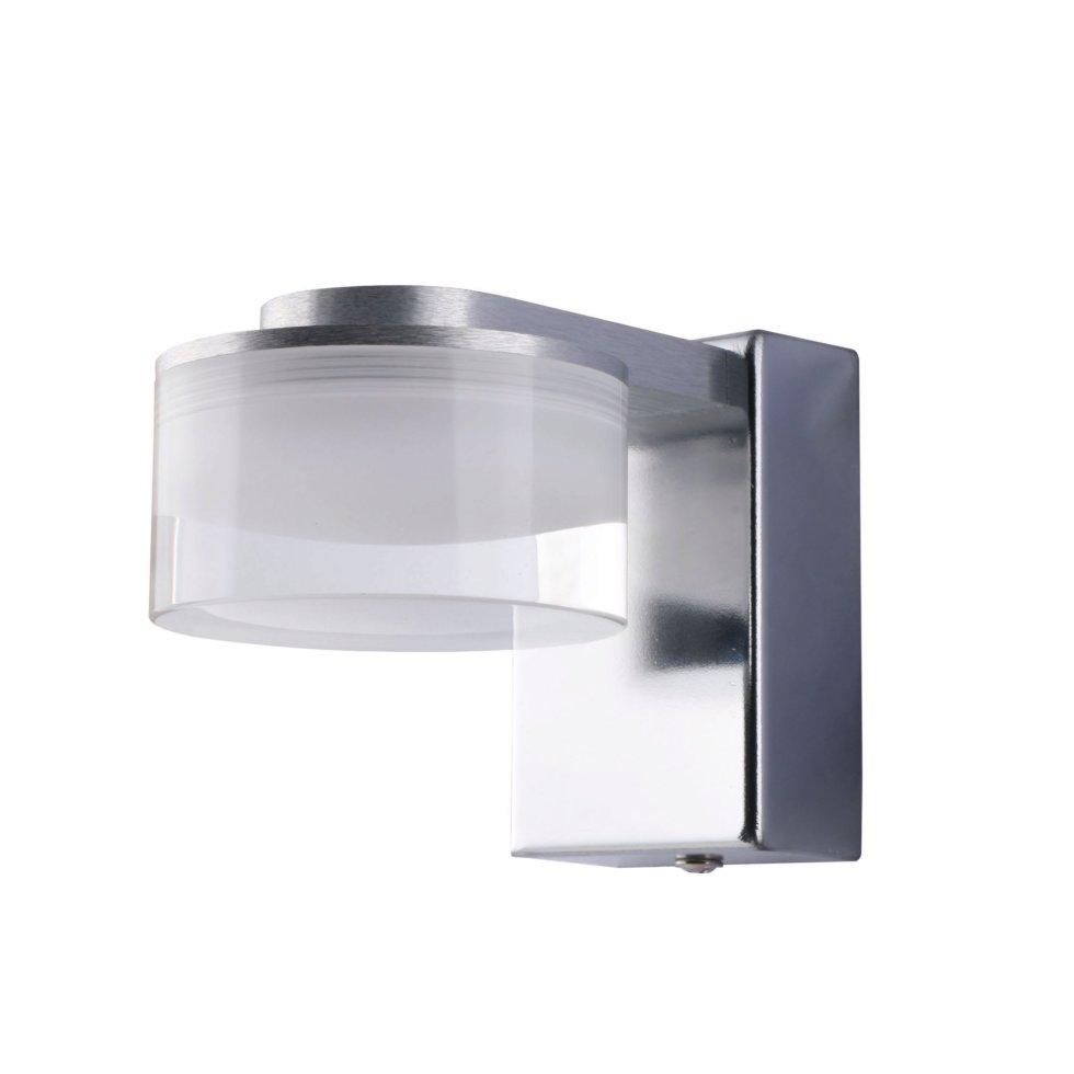 Светильник настенный светодиодный Escada 1х3 Вт IP44 стекло, цвет хром