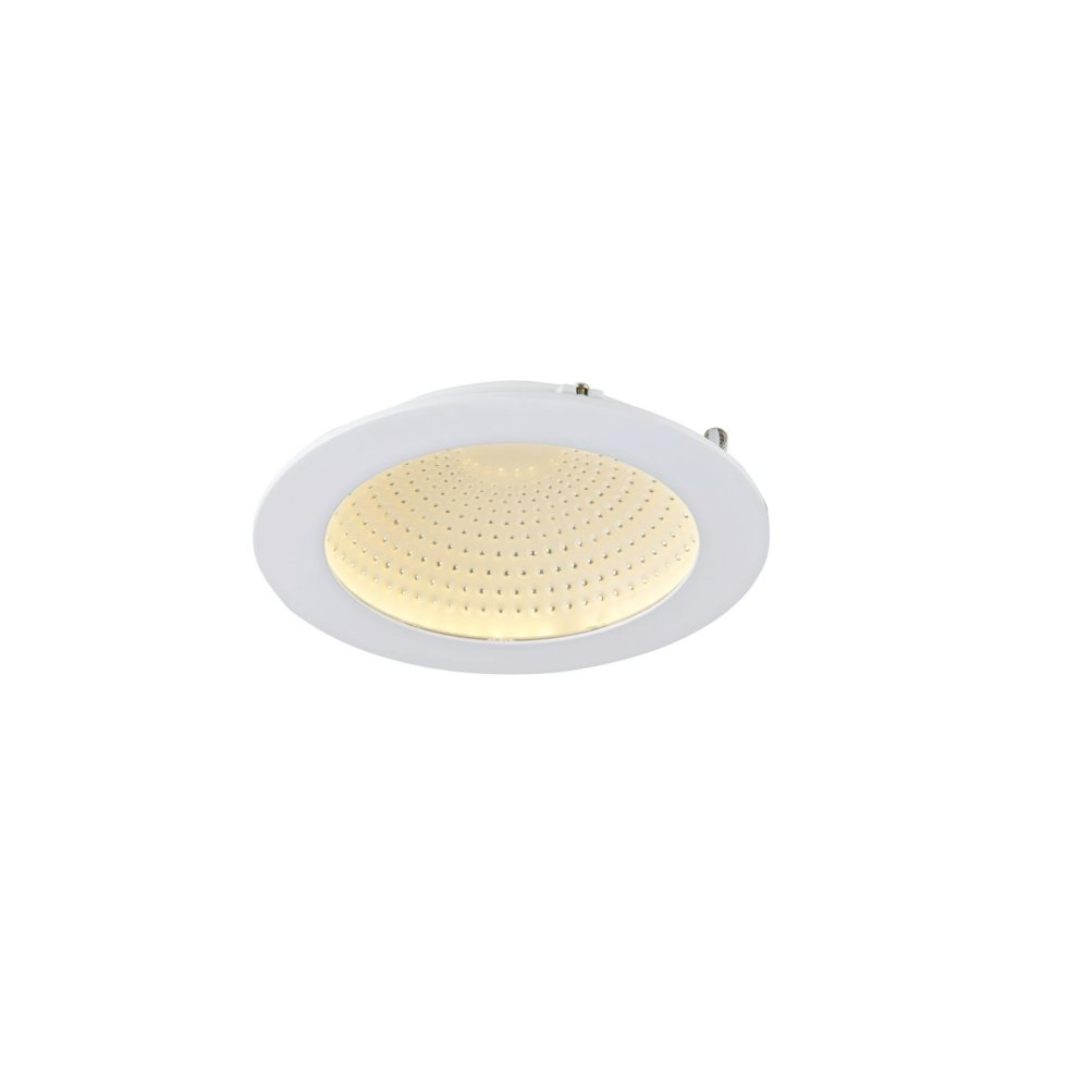 Светильник встраиваемый светодиодный Escada Umbria 10 Вт IP44 цвет белый