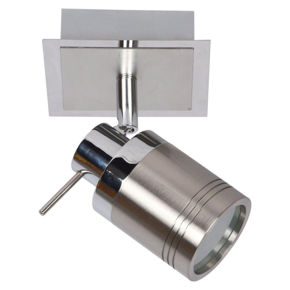 Светильник накладной Escada 1хGU10 IP44 цвет хром/никель