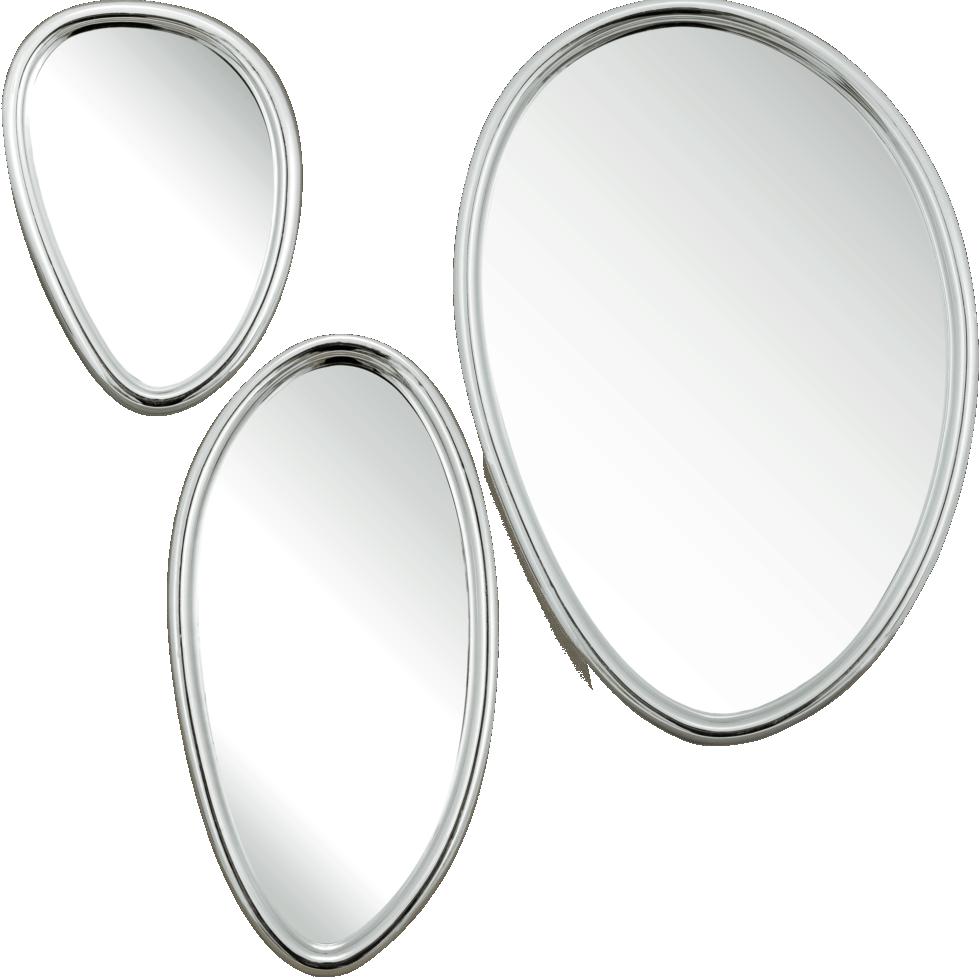 Набор зеркал в раме «Капли», 3 шт.