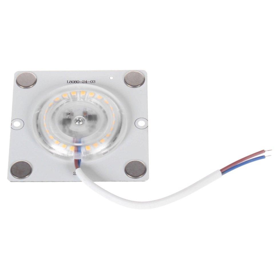 Плата светодиодная 02-18, 12 Вт, 220 В, 80 Лм, степень защиты IP20