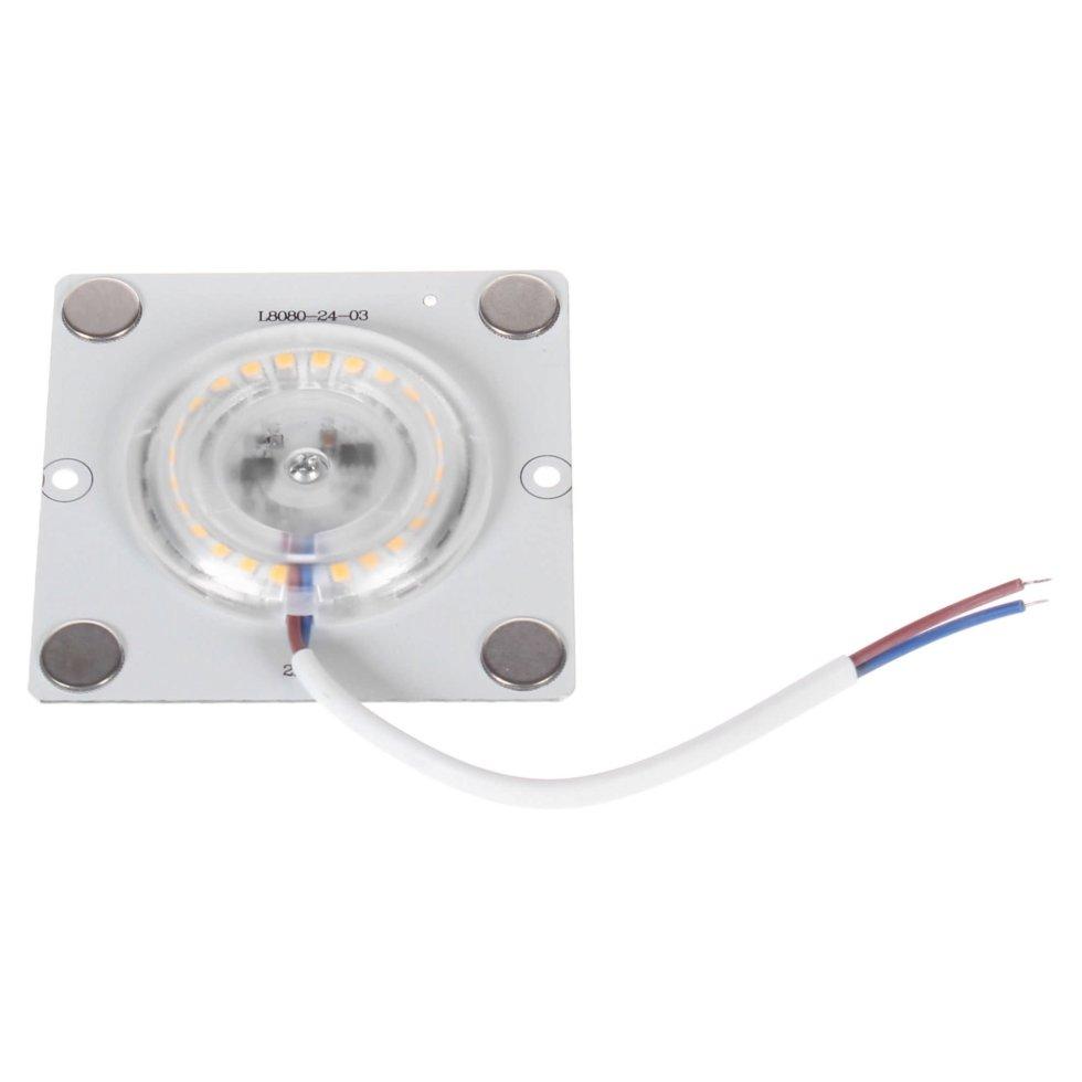 Плата светодиодная 02-20, 12 Вт, 220 В, 80 Лм, степень защиты IP20