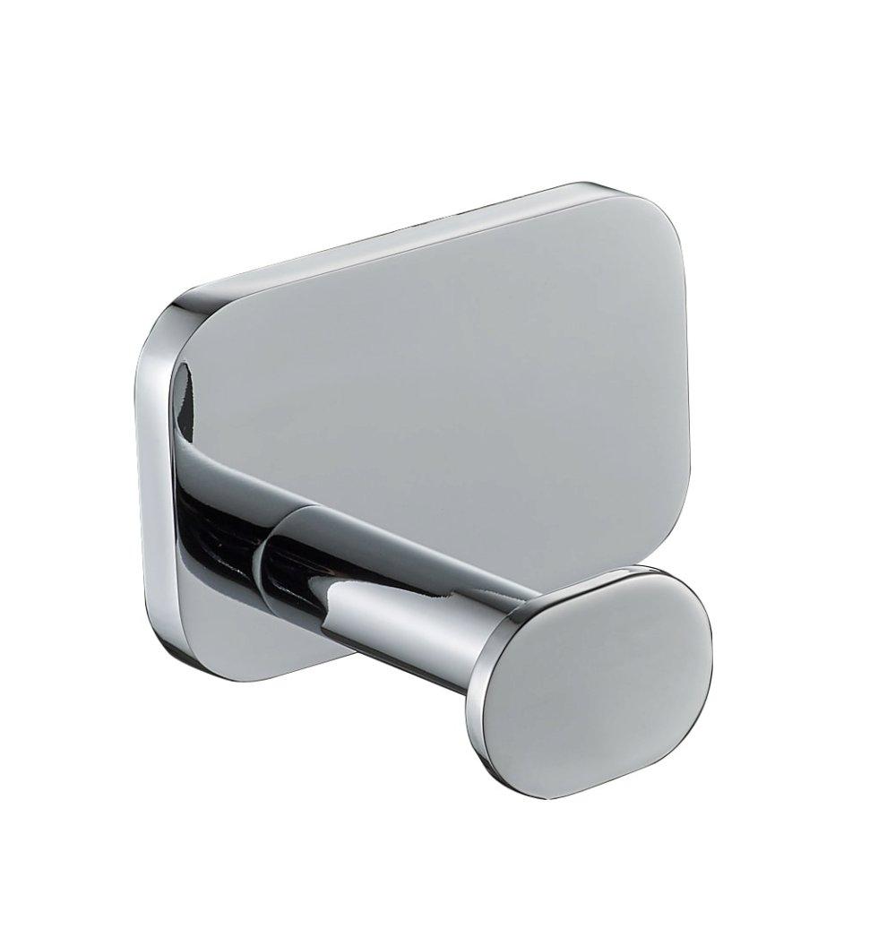 Крючок «Kraft», металл, цвет хром