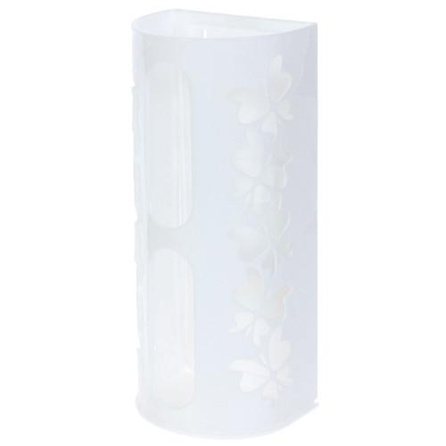 Корзина для пакетов «Fly», цвет белый