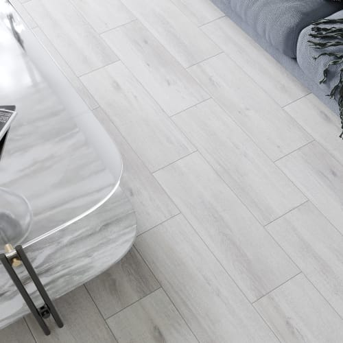 Керамогранит «Stockholm», 18.5x59.8 см, 0.99 м2, цвет серый