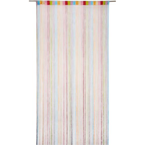 Штора нитяная Inspire, 150х280 см, цвет радужный