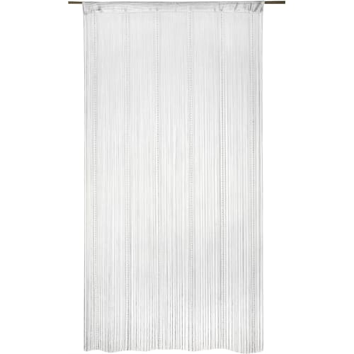 Штора нитяная Inspire «Однотонная», 150х280 см, цвет белый
