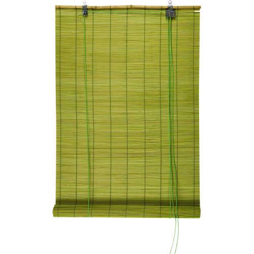 Штора рулонная «Бамбук» 120х175 см, цвет зелёный