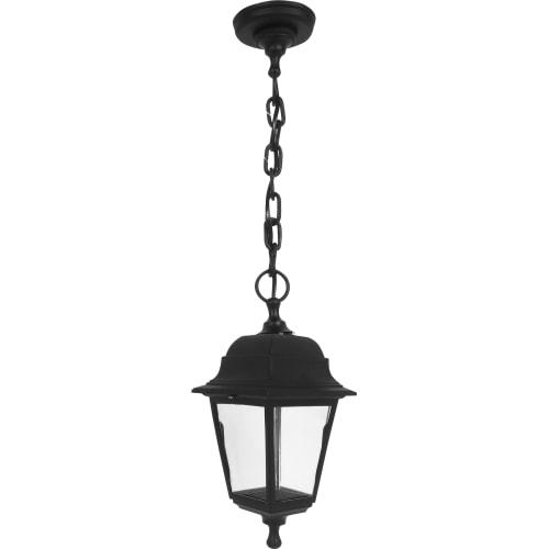 Светильник подвесной уличный, 1xE27x60 Вт, пластик, цвет чёрный