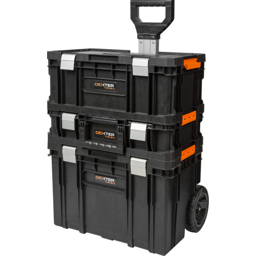 Ящик для инструментов Dexter Pro на колёсиках
