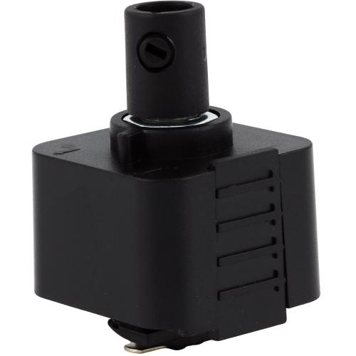 Коннектор для подвеса цвет чёрный