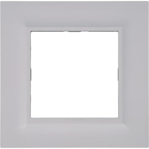 Рамка для розеток и выключателей Legrand «Structura», 1 пост, цвет белый