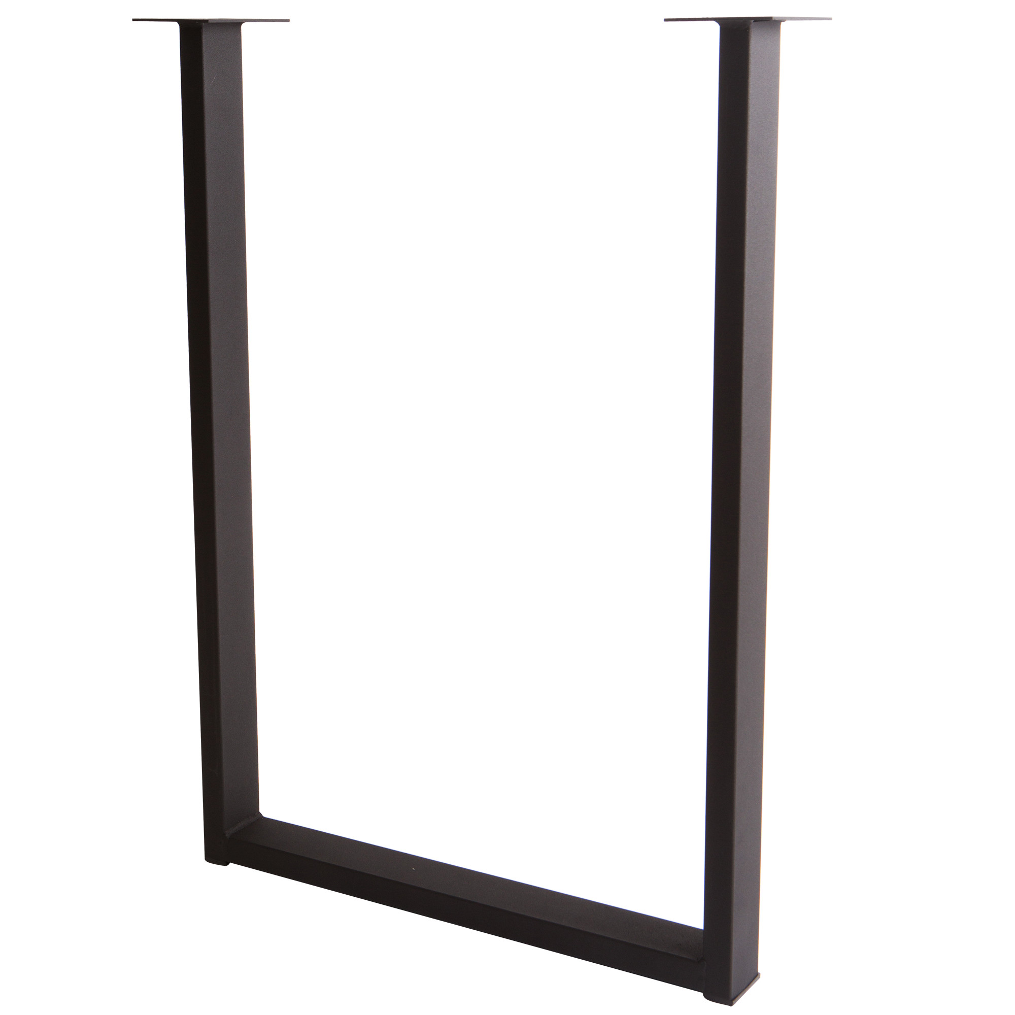 Подстолье для рабочей поверхности Лофт 710 мм, цвет чёрный