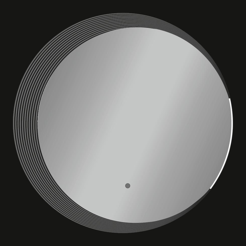 Зеркало Alba Classic 2-700 с подсветкой 70х70 см