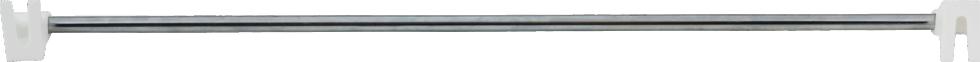 Рейлинг 60 см, цвет хром