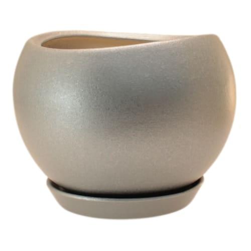Горшок цветочный «Шебби Шик» №2, 0.8 л 120 мм, глина