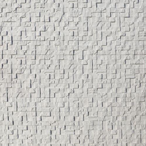 Камень искусственный Monte Alba Пикс Стоун белый 0.32 м²
