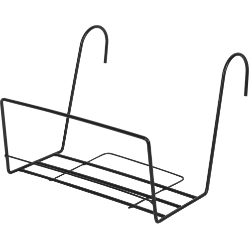 Держатель для балконного ящика универсальный, цвет чёрный