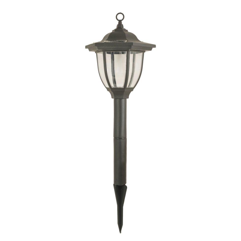 Светильник садовый в грунт Фонарь Старт на солнечных батареях