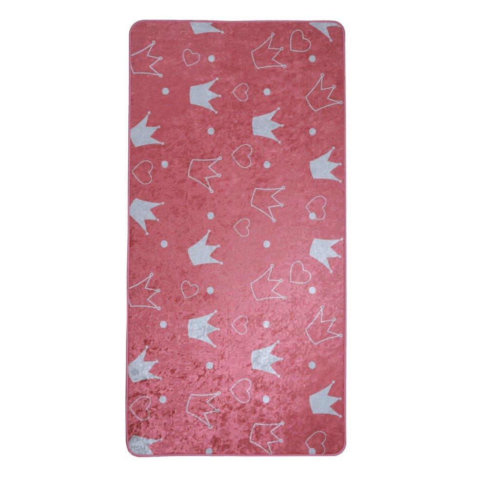 Ковёр «Kids Dream 03» 0.7х1.4 м цвет розовый