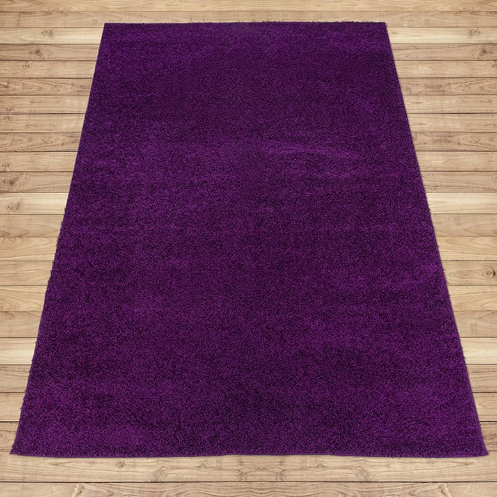 Ковёр «Лонж», 0.8х1.5 м, цвет фиолетовый
