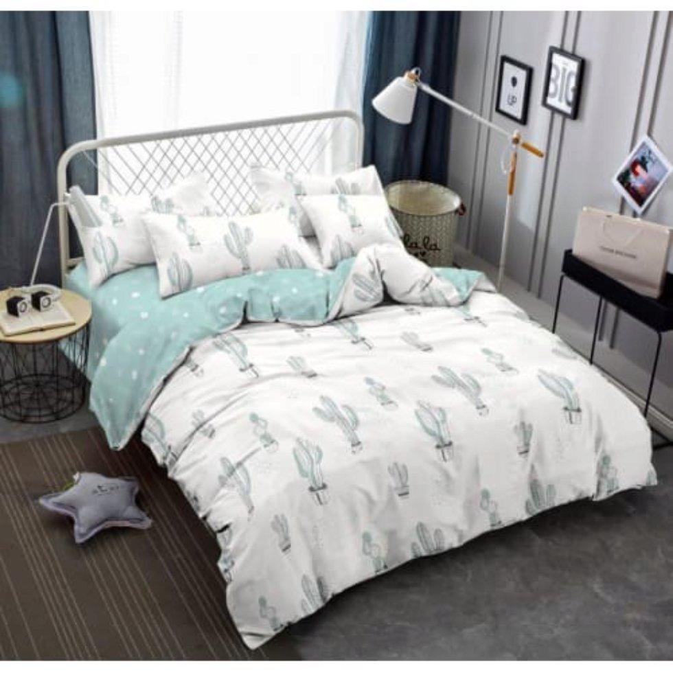 Комплект постельного белья «Тропикана», двуспальный, сатин