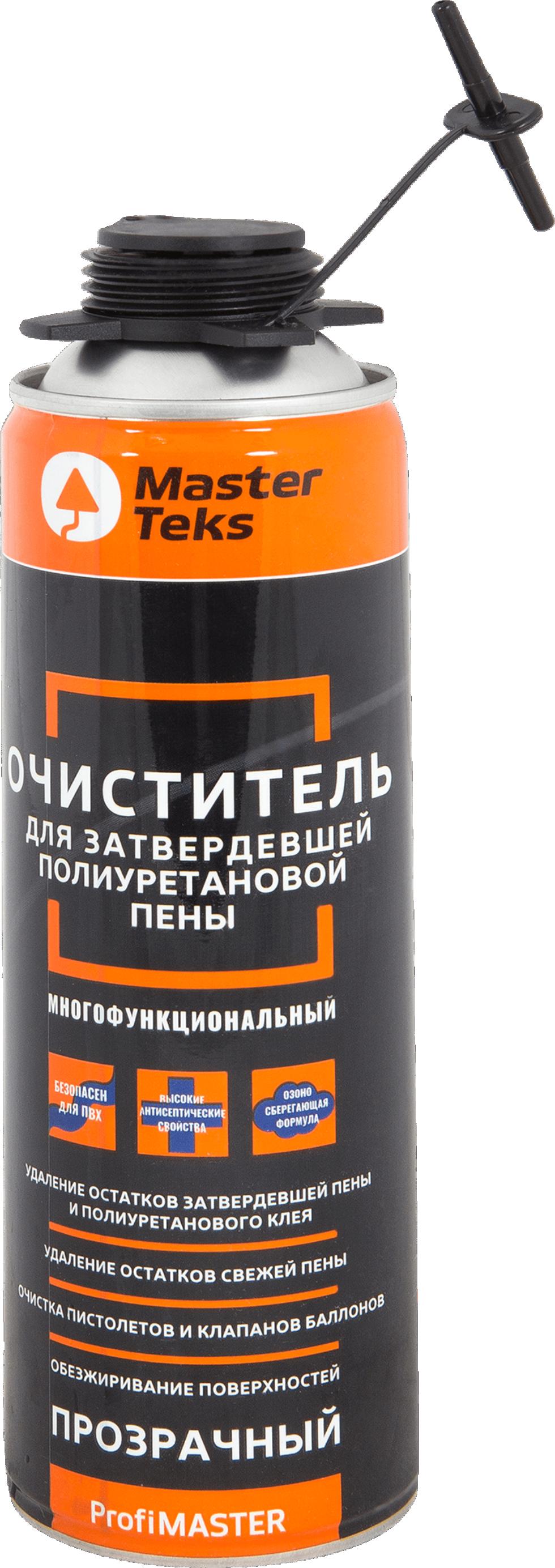 Очиститель монтажной пены Masterteks 0.5 л