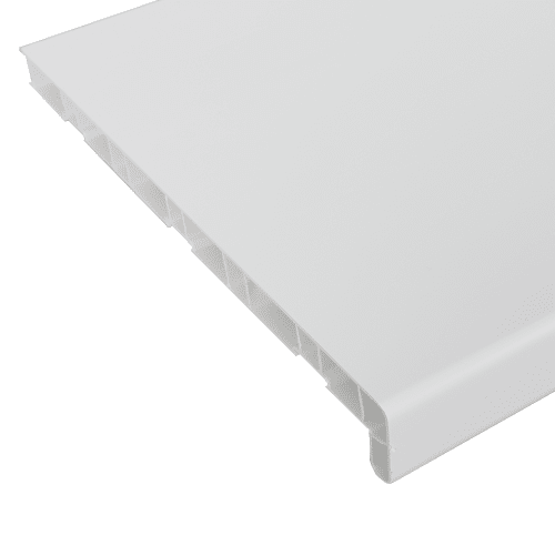 Подоконник ПВХ 1500х300 мм, цвет белый