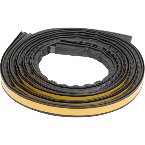 Уплотнитель для дверей магнитный 14х12.5 мм 2.1 м цвет чёрный