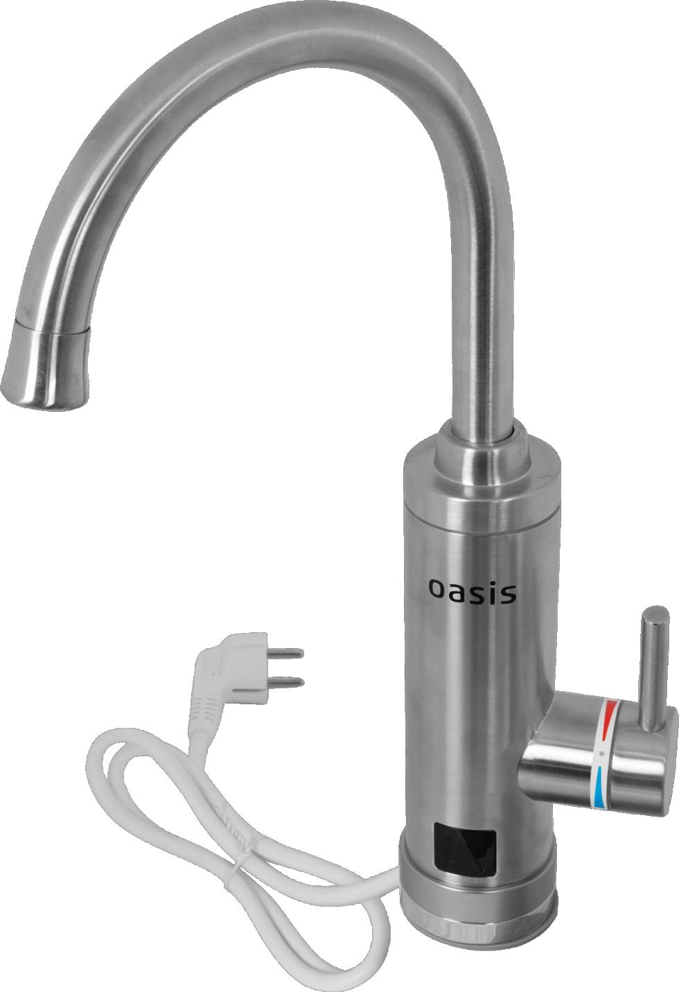 Водонагреватель проточный для кухни Oasis KP-S 3 кВт