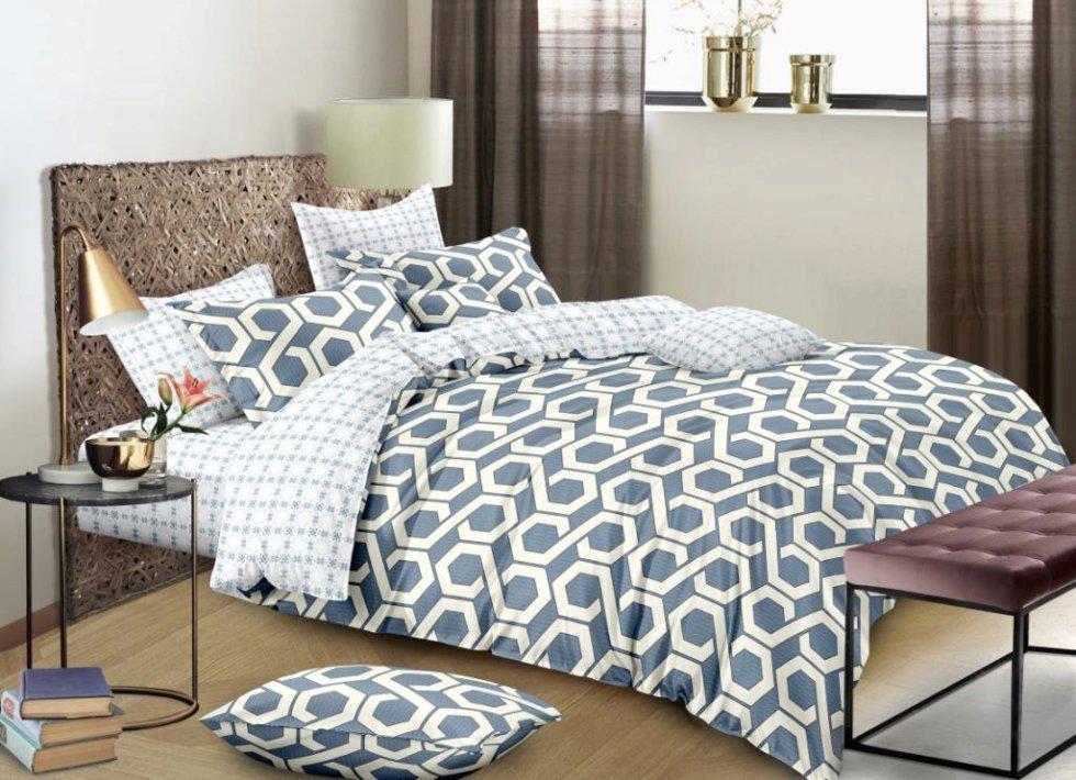 Комплект постельного белья «Нектар», 2-спальный, сатин