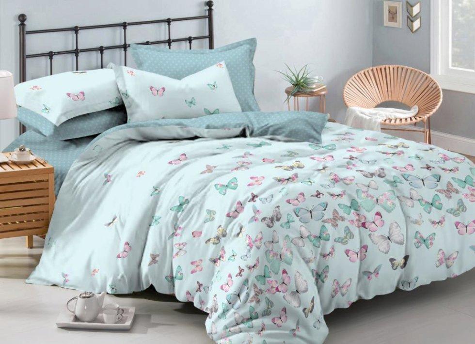Комплект постельного белья «Танец», 2-спальный, сатин