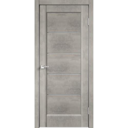 Дверь межкомнатная остеклённая «Сохо», 80x200 см, ПВХ, цвет лофт светлый, с фурнитурой