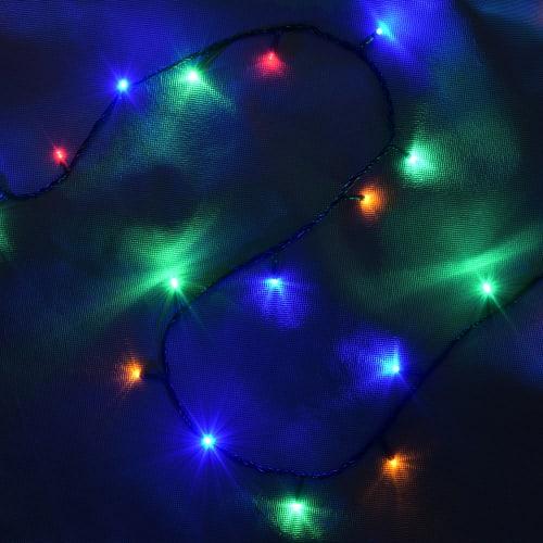 Электрогирлянда светодиодная Balance «Нить» для дома 50 ламп 5 м, цвет мультиколор