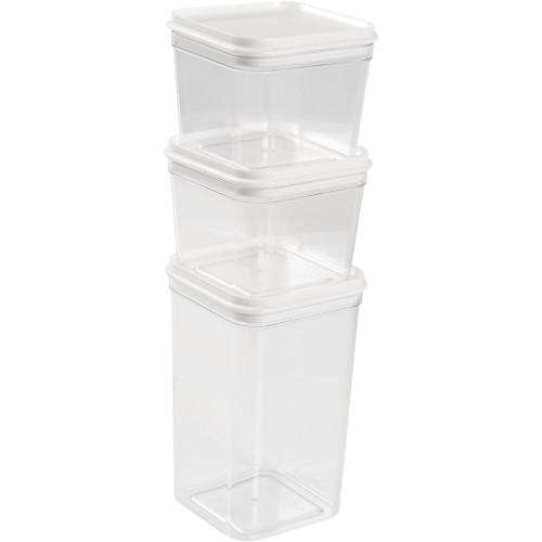 Набор контейнеров для хранения продуктов 0.6/0.6/1.3 л