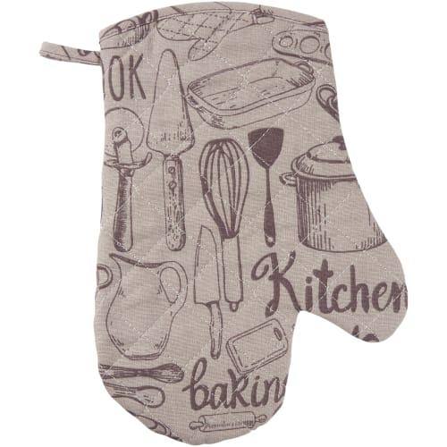 Рукавица кухонная «Капучино» 18x28 см