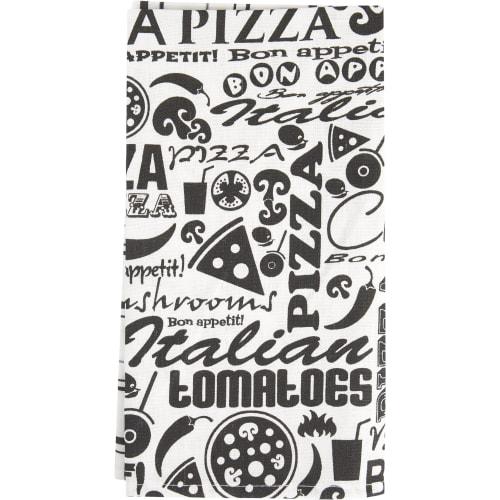 Набор кухонных полотенец «Пицца» 47x61 см, 2 шт.