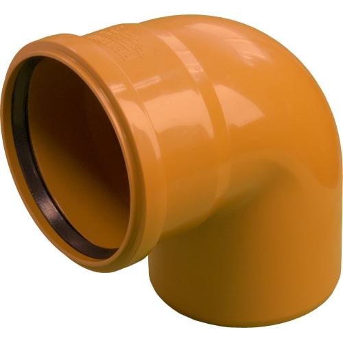 Отвод наружный 90° 110 мм