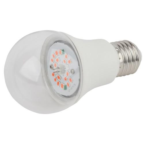 Лампа светодиодная для растений E27 220 В 12 Вт 300 лм, красный свет