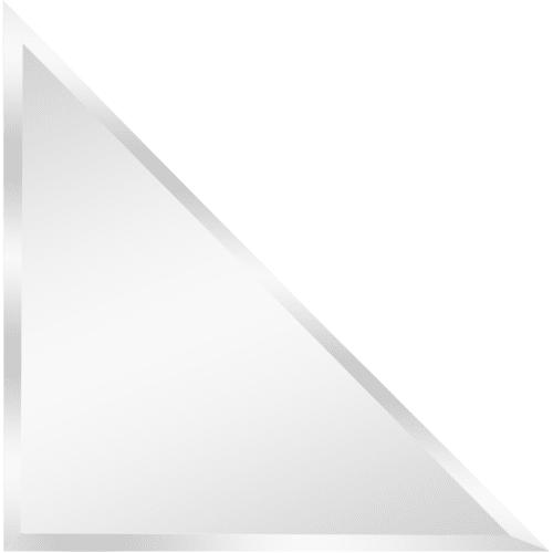 Плитка зеркальная Sensea треугольная 30x30 см 1 шт.