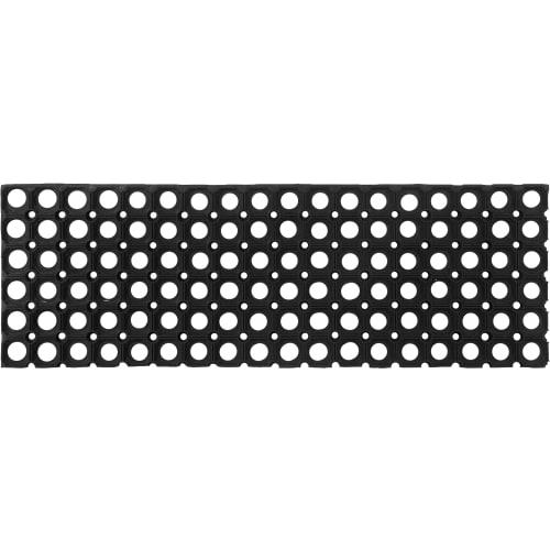 Коврик Flavio 25x75 см, резина, цвет чёрный