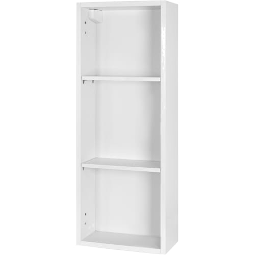 Каркас шкафа подвесного Смарт 30x80х15 см цвет белый