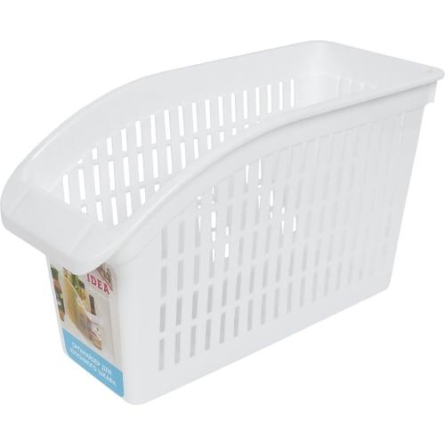 Органайзер для шкафа, 29x13x17 см, пластик, цвет белый
