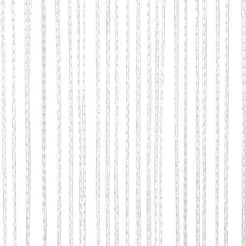 Штора нитяная 90x250 см белая
