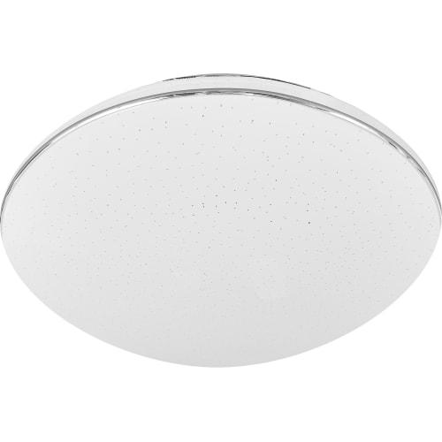 Светильник настенно-потолочный светодиодный Leka 2051/CL, 16 м², белый свет, цвет белый