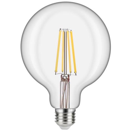 Лампа светодиодная филаментная Lexman E27 220 В 10.5 Вт шар прозрачный 1521 лм, белый свет