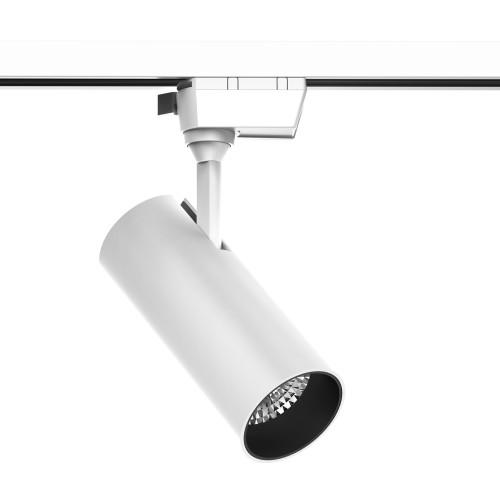 Трековый светильник Gauss светодиодный 20 Вт, 4 м², цвет белый